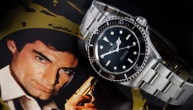 A Rolex Which Featured In a 007 Movie is expected to reach over £100,000 at auction.