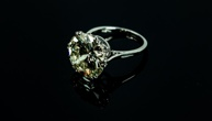 Dazzling 9.25ct Diamond Ring To Go Under The Hammer!