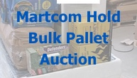 Bulk Pallets of Customer Returns from Major Retailer Are Auctioned by Martcom