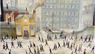Who Said Crime Doesn't Pay? Fake Lowry-Style Paintings Sell Legally at Auction for Triple the Estimate