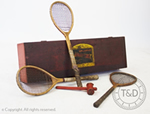 Antique Sphairistike Lawn Tennis Set Serves up a Surprise at Auction