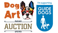Countries leading artists donate paintings for Guide Dogs auction organised by 12 year old Freddie