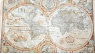 Shabby, Damp-Stained World Map Fetches £3,500 at Auction